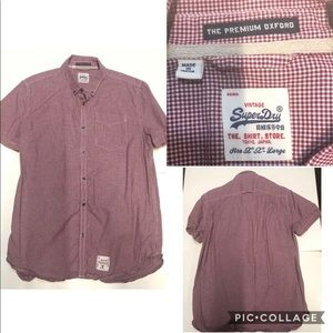 Superdry Short Sleeve Button Up